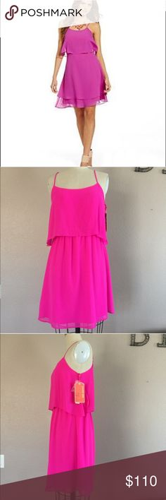 NWT  Orchard Pink Lorna Dress Amazing Orchard Pink Lorna dress, so perfect for summer. Adjustable straps, button back closure. Elastic waist, a must have  ✅Bundle and save  ✅ ✅ all reasonable offers will be considered No Trading  Poshmark rules only‼️ Measurements taken laying flat Ⓜ️️️ armpit to armpit 16 Ⓜ️ waist 14 stretch to 20 Ⓜ️length from armpit  26 Gianni Bini Dresses Midi