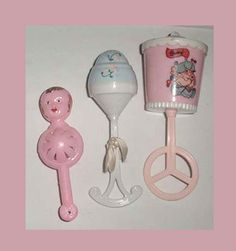 Antique Baby Rattles
