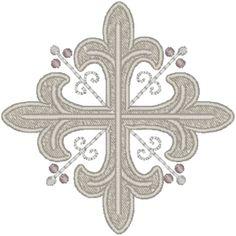 Vintage Ecclesiastical Design 202 Embroidery Design