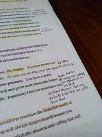 I read a few different ideas on how to study your patriarchal Blessing. Evrything form converting it into chapter and verse to color coding ...