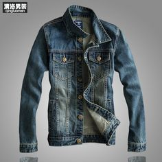 A classic piece that looks great with a t-shirt and black or beige pants. Denim Jacket Fashion, Preppy Mens Fashion, Denim Jacket Men, Denim Coat, Men's Fashion, Jean Vintage, Vintage Denim, Moral, Slim Man