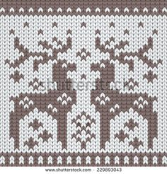 Ornamental Pattern For Knitting And Embroidery Stock Photos, Ornamental Pattern. Fair Isle Knitting Patterns, Knitting Charts, Loom Knitting, Knitting Stitches, Crochet Cross, Crochet Chart, Mochila Crochet, Diy Broderie, Beanies