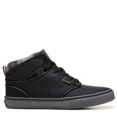 c5360c38c882 Kids  Atwood High Top Sneaker Pre Grade School. Vans KidsSchool ShoesHigh  Top SneakersHigh TopsBlack LeatherBlack Patent Leather