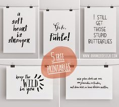 Ann.Meer by Anna-Maria Dahms: Free Printable im September