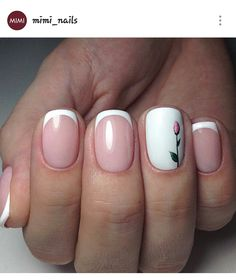 27 Fall Nail Designs Jump Start of the Season - Nageldesign - Nail Art - Nagellack - Nail Polish - Nailart - Nails - French Manicure Nails, French Manicure Designs, French Tip Nails, Fall Nail Designs, Nails Design, French Tips, French Chic, French Nail Art, Manicure Ideas