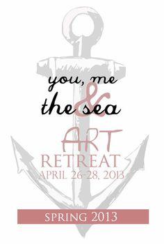 Alisa Burke — you, me and the sea art retreat spring 2013