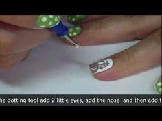 Easter Basket Nail Art Tutorial Nails Pinterest Nail Art