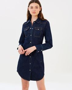 b13a45e6cf0 880 Best Denim dresses and jumpsuits images in 2019
