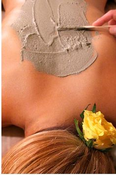 """Kaya Kalpa from Evo Spa...their signature ritual means """"body's transformation"""" in Sanskrit. The rare healing powder used in this ancient Indian tradition was once reserved exclusively for royalty and contains gold, silver and mineral ashes of natural crystals and gemstones. It is prepared in India especially for Evo."""
