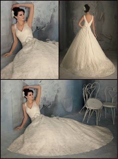 Blu by Mori Lee Wedding Dress, Style 5170. Poetic Lace. Available to order in White, Ivory, & Ivory/Champagne. Removable beaded organza Tie Sash with beading flower sold separately as style 11038. Call Perfection Prom & Bridal today with any questions. (813) 621-1991. 10312 Bloomingdale Avenue Riverview, FL 33511