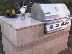 How to Build a Grill : Archive : Home & Garden Television