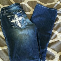 Jeans Premier Jeans from Rue 21, no rips no tears worn once Premier Designs Pants Boot Cut & Flare