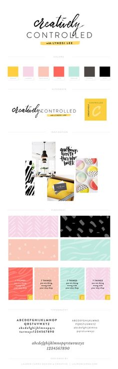 Brand Design | Creatively Controlled by Lyndsi Lee