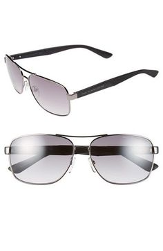 MARC BY MARC JACOBS 59mm Navigator Sunglasses available at #Nordstrom