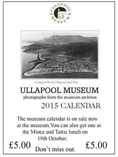 The lovely Museum calendar for 2015.