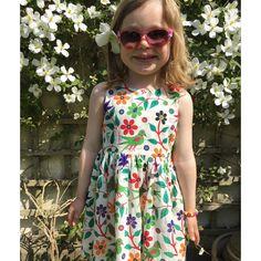 6dfd9fa47b42 Jaba Yard · Kids Fashion · Bright   pretty Girls summer dress  www.jabayard.com