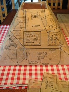 Updated Lampshade With Sewing Pattern