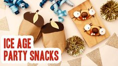 To celebrate Ice Age: Collision Course, we prepared a recipe for a fun Sid the Sloth cookie as well as a Scrat Acorn Goodie Bag. These treats are perfect for...