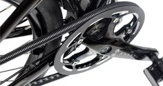 FreeDrive™ Chain Cover | BioLogic   Moves with the chain to stop cloths getting covered in oil.