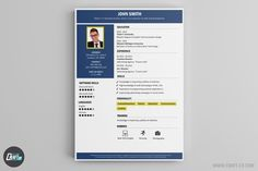 These Resume Templates will surely help you find a job! The Best Resume Builder with creative Resume Samples. Creative Cv Template, Find A Job, Get The Job, Resume Maker, Le Cv, Resume Builder, Creative Jobs, Looking For A Job, Best Resume