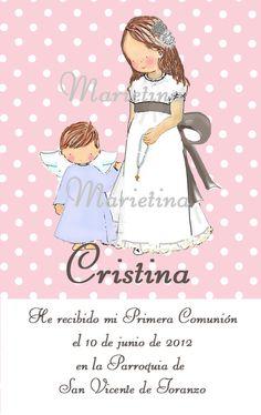 FIRST COMMUNION CARD First Communion Cards, First Holy Communion, Christening, Catholic, Presents, Children, Craft Ideas, Block Prints, Invitations