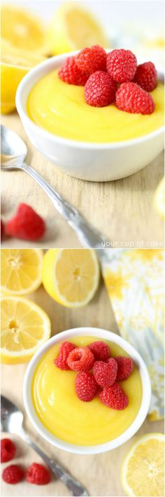 Perfect zingy and easy Lemon Curd. This is my new favorite summer dessert!