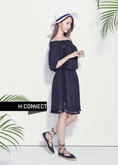 Girls' Generation's YoonA is full of feminine grace for 'H:CONNECT' | allkpop.com