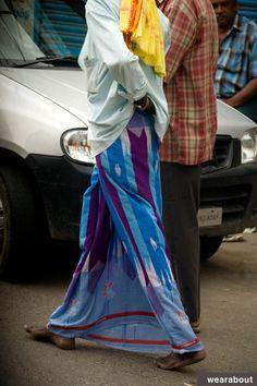 ikat salem lungi street style india