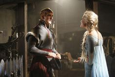 First Look at Elsa and Kristoff on Once Upon a Time!