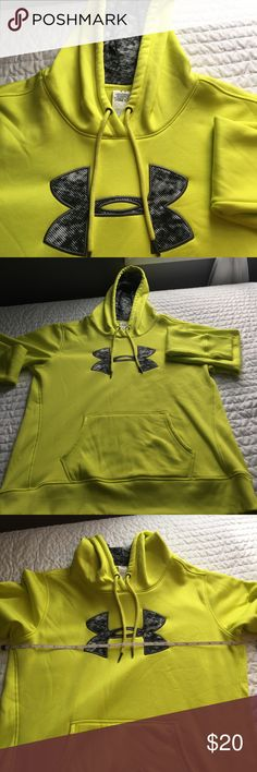 Under Armour sweatshirt Like brand new. Only worn once.  See pictures for measurements Under Armour Tops Sweatshirts & Hoodies