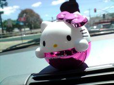 Perfume para carro hello kitty
