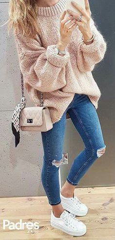 best comfortable women fall outfits ideas as trend 2017 - mode - Outfits Mode Outfits, Fashion Outfits, Fashion Trends, Womens Fashion, Fashion Ideas, Ladies Fashion, Best Outfits, Sneakers Fashion, Outfits 2016