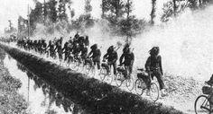 WW1 Photograph - Italian Bersaglieri bicycle regiment