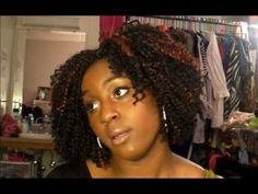 Natural Hair: Crochet Braid Protective style update