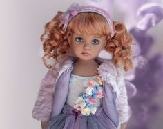 """Outfit """"Winter Garden"""" for dolls Little Darling by Dianna Effner"""
