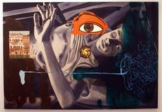 My favorite painting by my favorite artist, David salle