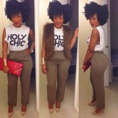 I heart the look! I'd wear a red lace bra for contrast! And some red strappy stilettos! good fro to toe! **shes fab Trend Fashion, Moda Fashion, I Love Fashion, Passion For Fashion, Girl Fashion, Autumn Fashion, Fashion Looks, Womens Fashion, Style Fashion