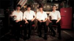 My first gif in Pinterest and it's about them. #CNBLUE *shrugs*