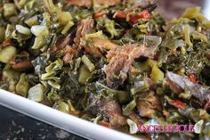Callaloo with Smoked Red Herring