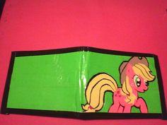 My Little Pony Applejack Duct tape Wallet. $14.00, via Etsy.