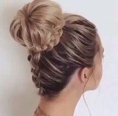 Easy and cute bun