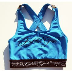 Fighter Girls Supplex & Zebra X Back Sports Bra/Top (Front)