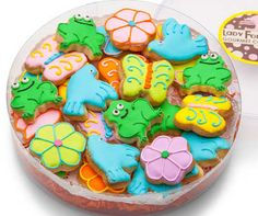 Spring Mini Sugar Cookies