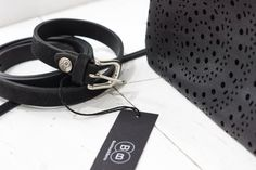 Black is beautiful ... black accessories are great. Hier unser Buckles & Belts Gürtel Torean bei Boutique Anna Iff in @würzburg