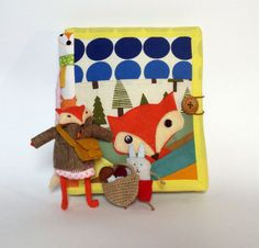 quiet book,busy book,dress up doll,fox, activity book,dollhouse quiet book,educational book,forest,bunny,quiet toy,pretend play,travel toy