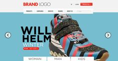 22 Free eCommerce PSD Website Templates