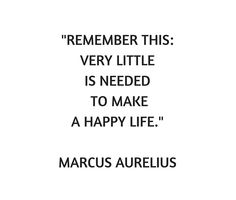 Stoic Philosophy Quote - Marcus Aurelius - Very Little is Needed to Make a Happy Life Tapestry by IdeasForArtists