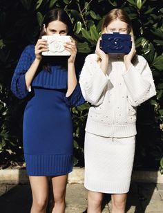 Charlotte Wiggins and Stephanie Hall - Angelo Pennetta - February 2013 issue