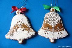 Рождественские пряники. Красивые идеи (58) (640x428, 137Kb)