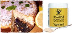 Baobab recipes: Baked Cheesecake with Baobab powder